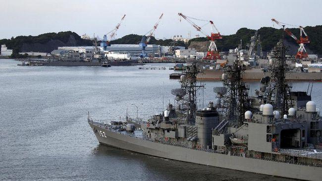 Kapal Perang AS Lewati Selat Taiwan