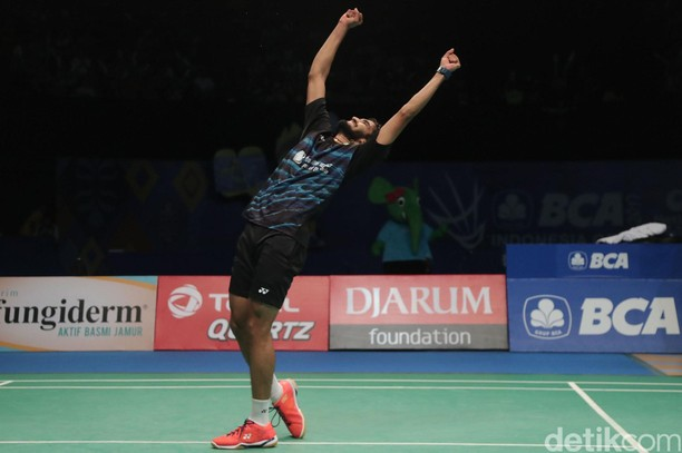 Kidambi Srikanth Juara Indonesia Open 2017 Tunggal Putra