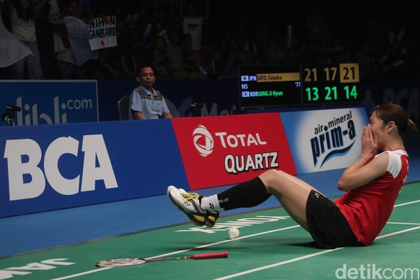 Sayaka Sato Juarai Tunggal Putri Indonesia Open 2017