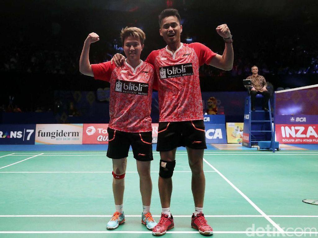 Sebelum ini, gelar terakhir untuk Indonesia diraih lewat ganda putra Mohammad Ahsan/Hendra Setiawan pada tahun 2013 silam.