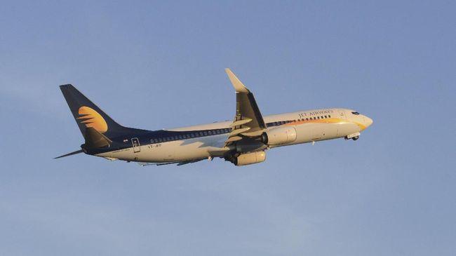 India Belum Cairkan Dana Darurat, Jet Airways Menuju Bangkrut