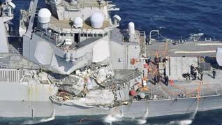 Picu Kecelakaan, Militer AS Singkirkan Layar Sentuh di Kapal