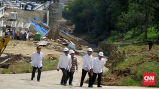 Jokowi Resmikan Tol Bocimi Ciawi-Cigombong