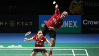 Praveen/Debby Lolos ke Perempat Final, Ahsan/Hendra Tumbang