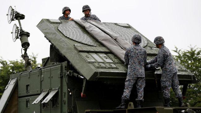 Tangkal Korut, Anggaran Militer Jepang Pecahkan Rekor