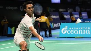 Jonatan Christie Kalah dari Axelsen di Malaysia Masters