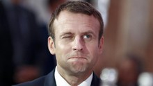 Setelah Pamer Kemesraan, Macron 'Bantai' Trump di Kongres