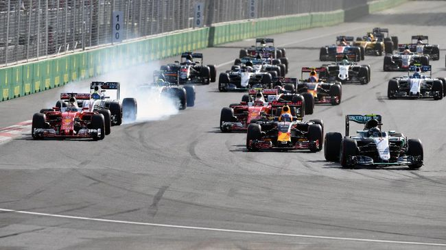 F1 GP Bahrain dan Vietnam Ditunda Karena Virus Corona