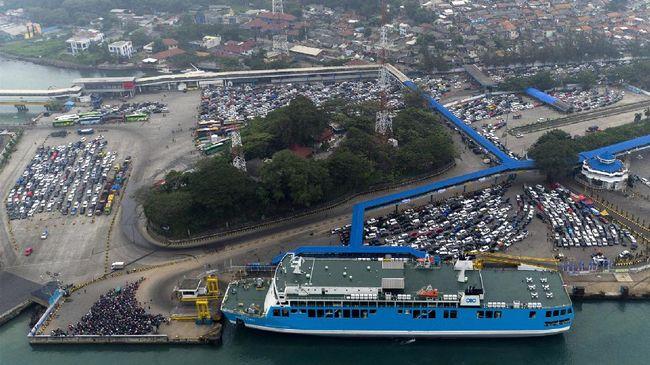 Arus Balik di Pelabuhan Merak Masih 46 Persen