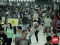 Penumpang di Bandara Hasanuddin - Makassar Melesat 20 Persen