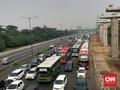 Macet di Tol Jakarta-Cikampek, 'Contraflow' Diberlakukan