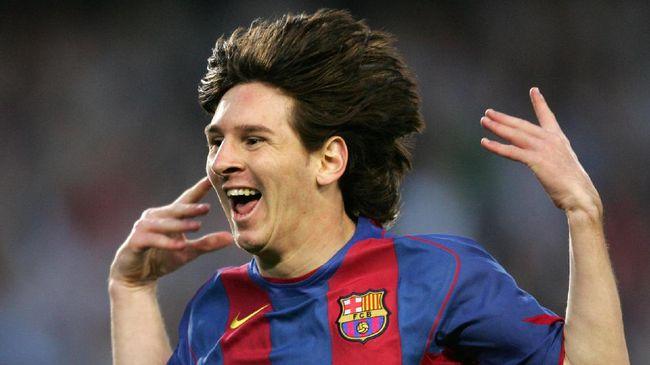 Perayaan 11 Tahun Messi Ulang Gol Maradona