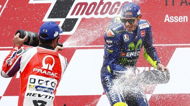 Schwantz: Rossi Menang Seri, Tapi Tak Juara Dunia MotoGP