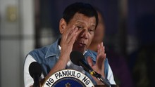 Duterte Cedera Lutut akibat Jatuh dari Motor