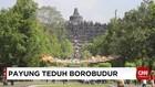 Kompleks Borobudur Dipercantik dengan Payung Warna-Warni