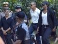 Baju Liburan Santai ala Michelle Obama di Bali