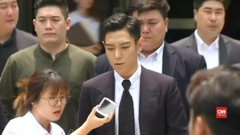 Penyesalan T.O.P 'Bigbang' dalam Sidang Perdana Kasus Ganja