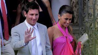 Gaun Pengantin dari Barcelona untuk Pernikahan Messi