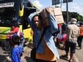 Penumpang Arus Balik Ramaikan Terminal Kampung Rambutan