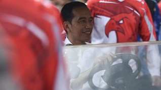 Jokowi Bertemu Habibie Bahas Pengembangan Teknologi