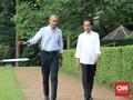 Gaya Santai Jokowi dan Obama di Istana Bogor