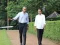 Pertemuan Singkat Jokowi dan Obama