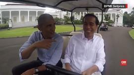 Keramahan Jokowi dan Jajanan Pasar untuk Obama
