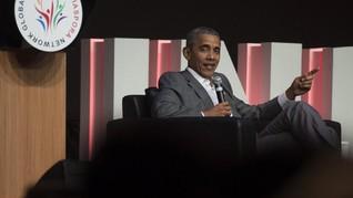 Obama Sebut Tinggal di RI Bikin Dia Jadi Pemimpin Kalem