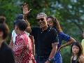 Obama Sebut Candi Borobudur Indah dan Damai