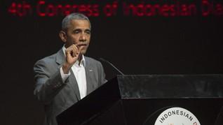 Obama 'Sindir' Trump di Depan Ribuan Diaspora Indonesia