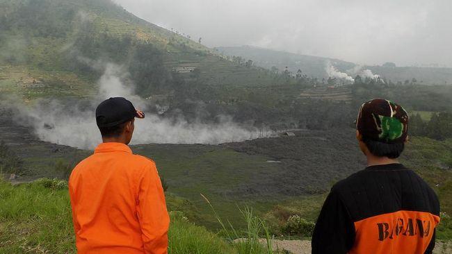 Dieng Gempa, Aktivitas Kawah Sileri Terus Dipantau