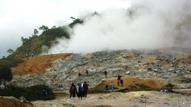 Wisata gunung dieng 2018