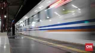Longsor, Kereta Api Lintas Sukabumi-Bogor Tak Beroperasi