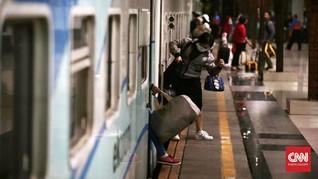 Gerbong Kereta Lodaya Tambahan Anjlok, Penumpang Selamat
