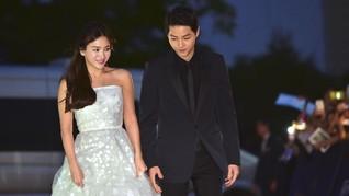 Menghitung Harga Fantastis Gaun Pengantin Song Hye Kyo