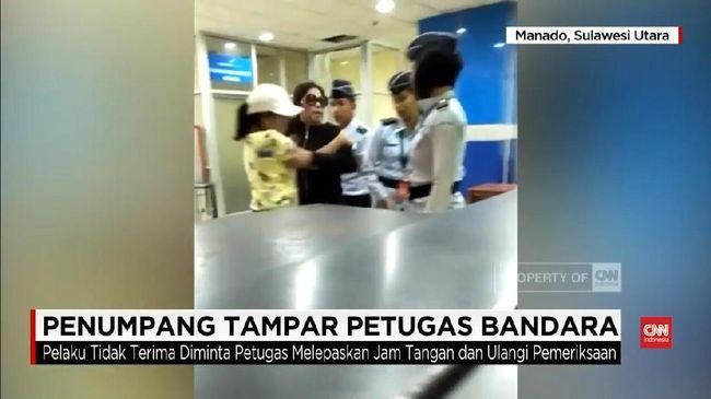 Menakar Aspek Psikologi Wanita Tampar Petugas Bandara