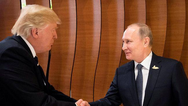 Trump Berterima Kasih kepada Putin karena Usir Diplomat AS