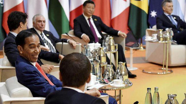 Jokowi Pamer Kesuksesan Deradikalisasi Indonesia di KTT G20