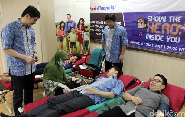 Aksi Donor Darah untuk Sesama
