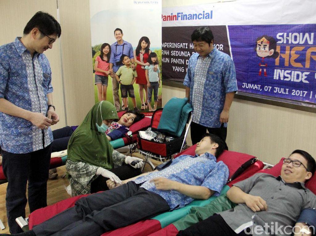 Aksi yang digelar oleh karyawan Panin Dai Ichi Life ini diharapkan dapat membantu memenuhi stok kebutuhan darah di beberapa wilayah di Indonesia yang semakin menipis.