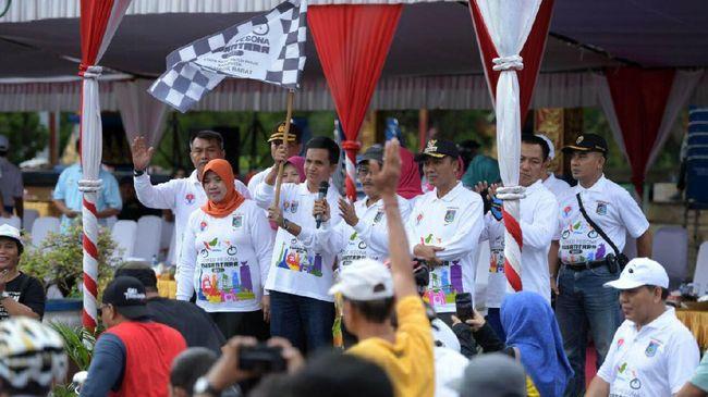 Gowes Pesona Nusantara Lombok Libatkan 4000 Pesepeda