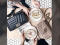 Latte Art Usung Logo Fesyen di atas Secangkir Kopi