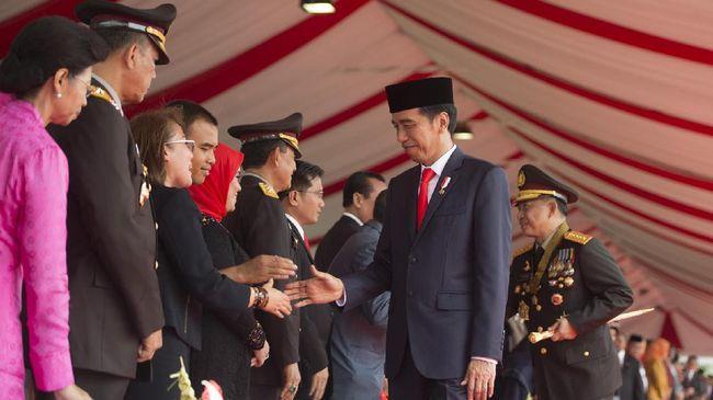 HUT Bhayangkara, Jokowi Soroti Profesionalitas Polri