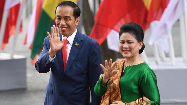 Ada Raja Jokowi dan Ratu Iriana di Sumsel