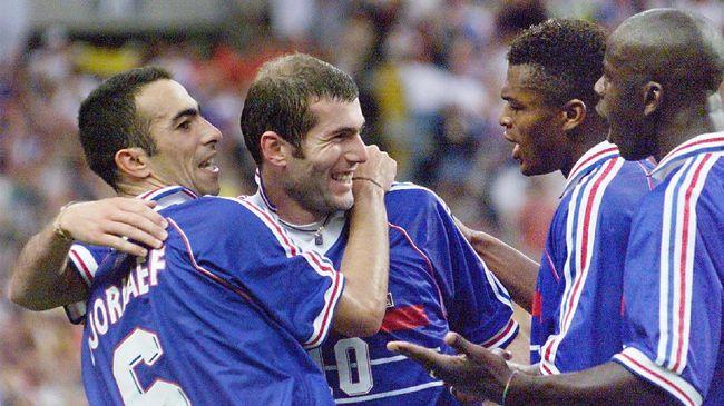 Zidane dan Penghuni Peringkat 59 Top Skor Piala Dunia
