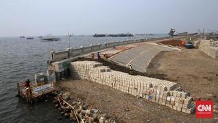 PUPR dengan Belanda Evaluasi Pembangunan Tanggul Raksasa