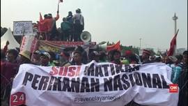 Nelayan Tuntut Pelegalan Cantrang dan Copot Menteri Susi