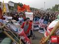 Larangan Cantrang Berbuntut Demo Ratusan Nelayan di Istana