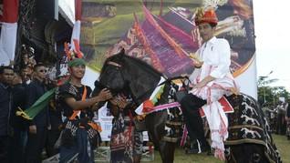 Jokowi Serahkan Dua Kuda 'Gratifikasi' Rp170 Juta ke KPK