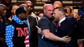 Presiden UFC Sebut McGregor Petarung Langka